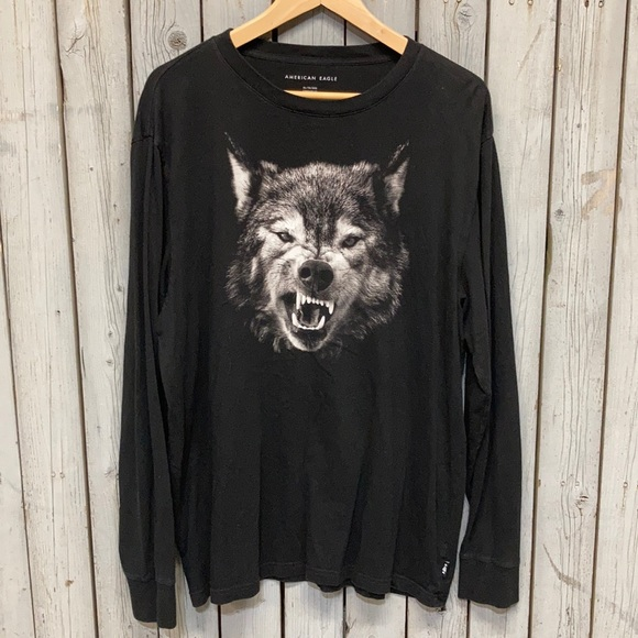 MENS AE Wolf Shirt